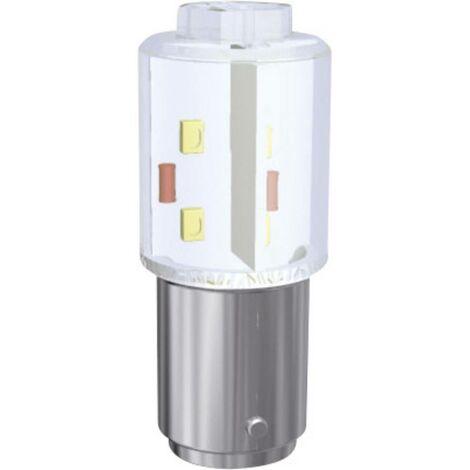 Voyant de signalisation LED Signal Construct MBRD151604 MBRD151604 BA15d Puissance: 0.9 W N/A