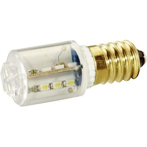 Voyant de signalisation LED Signal Construct MBRE141618 MBRE141618 E14 Puissance: 1.2 W N/A