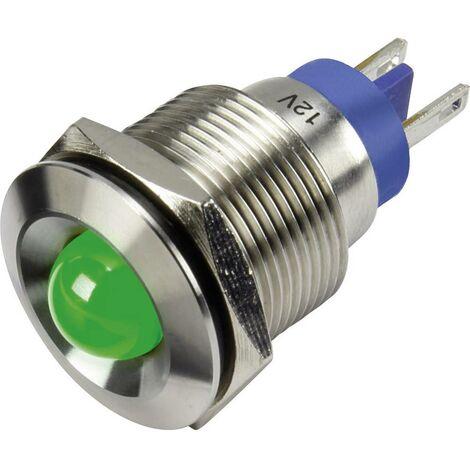 Signal Construct Voyant de signalisation LED vert 12 V//AC 12 V//DC SFEU087225