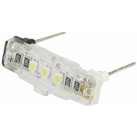 Voyant lumineux à LED Mosaic blanc,230V~ pour fonction d'éclairage, 0,15 mA