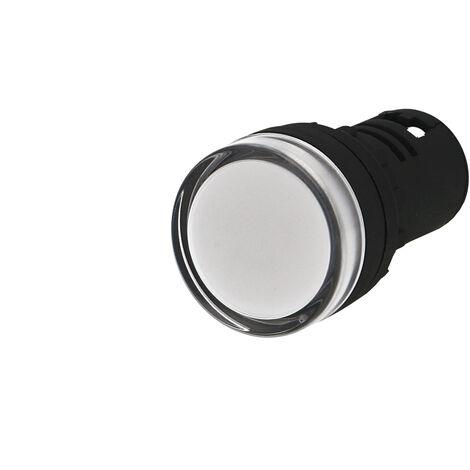 Voyant lumineux monobloc à LED IMO 24VAC/DC Ø22mm blanc