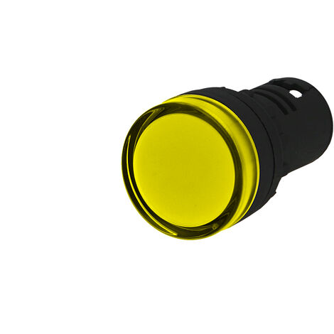 Voyant lumineux monobloc à LED IMO 24VAC/DC Ø22mm jaune