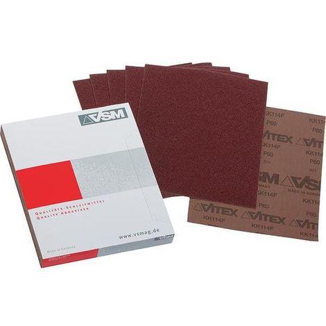 VSM Schleifgewebe Blattware, KK114F, Körnung 444, silver
