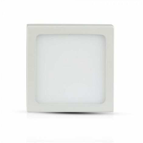 VT-1805SQ MINI PANNEL peu profond 18W blanc chaud carré VT-1805SQ-1