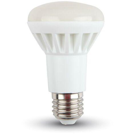 Ampoule LED R63 E27 8W 6000K Réflecteur de lumière froide