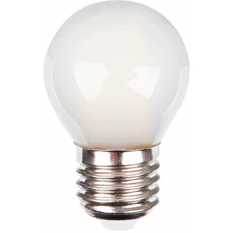 VT-1974 bombilla de luz LED E27 4W FILAMENTO mate blanco caliente a bulbo VT-1974-1