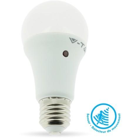 VT-2016 ampoule LED E27 9W blanc froid avec capteur de lumière VT-2016-3