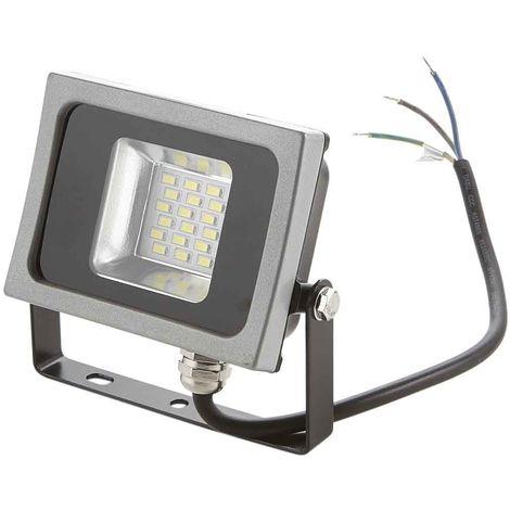VT-4810 projecteur LED 10W ultra mince blanc naturel SMD noir-gris VT-4810-4