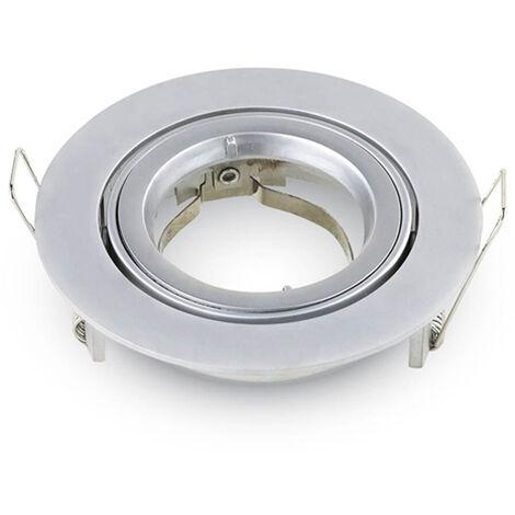 VT-779 soporte de la lámpara cuadrado SPOT empotrada blanco ajustable VT-779-1