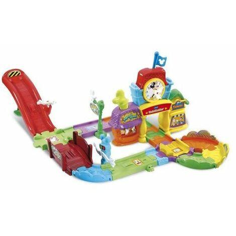 VTECH - Tut Tut Bolides Mickey - Le Circuit Train Interactif de Mickey