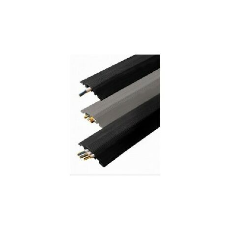 Vulcascot 26401075 RO7B BLACK 10x30mm HOLE SPLIT BASE 3M CABLE PROTECTOR