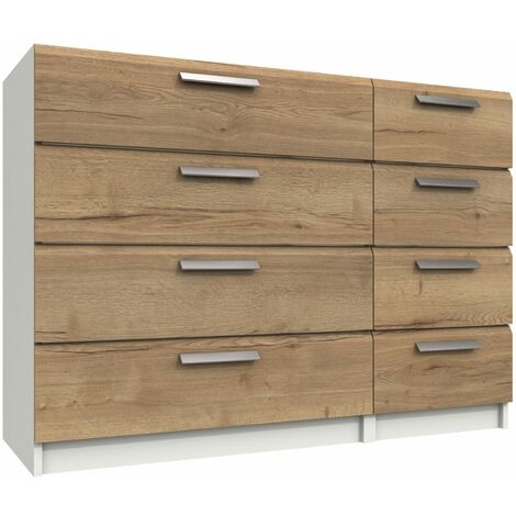 W Ter Four Drawer Double Chest