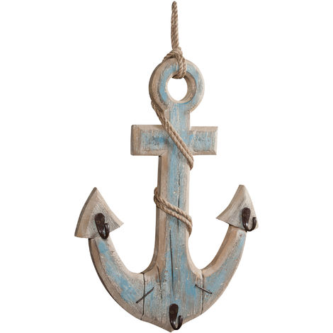 W38,5XDP6XH63 cm sized solid wood made wall anchor