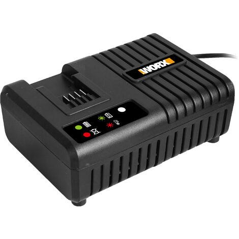 WA3867 - Chargeur Rapide Batterie 20V WORX