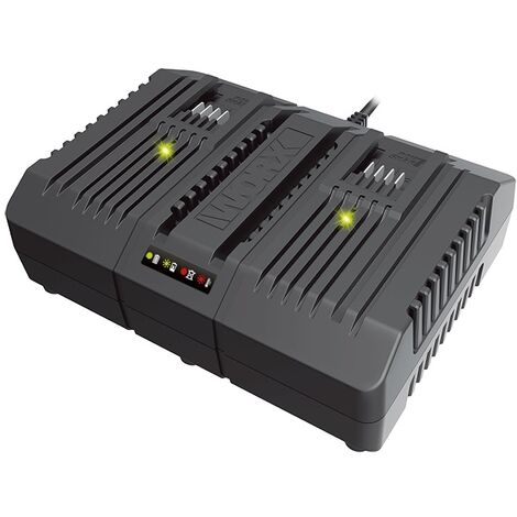 WA3883 - Chargeur Double Batterie 20V WORX
