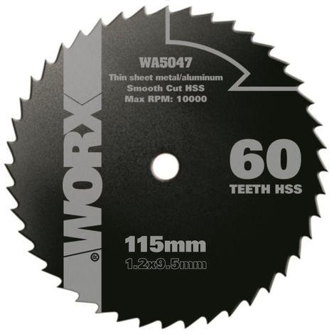 WA5047 - Disco multiusos Ø115mm 60T WX427