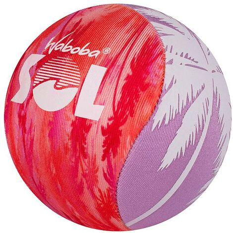 Waboba Sol Palm Tree Ball (One Size) (Red/Purple/White)