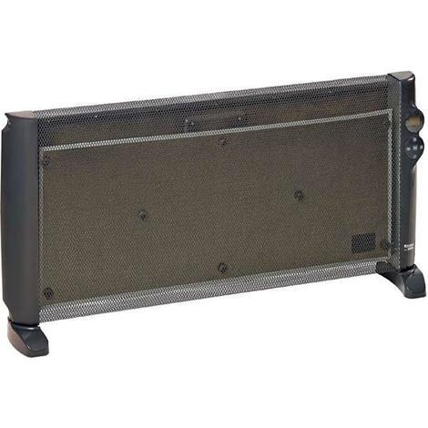 2000 Watt, 2 Heizstufen, LCD-Disp Einhell Glaskonvektor Heizung GCH 2000 W