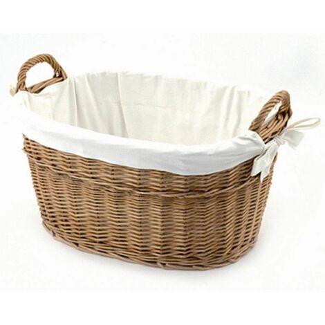 Wäschekorb groß, Maße: 55x44x30cm H: 30cm