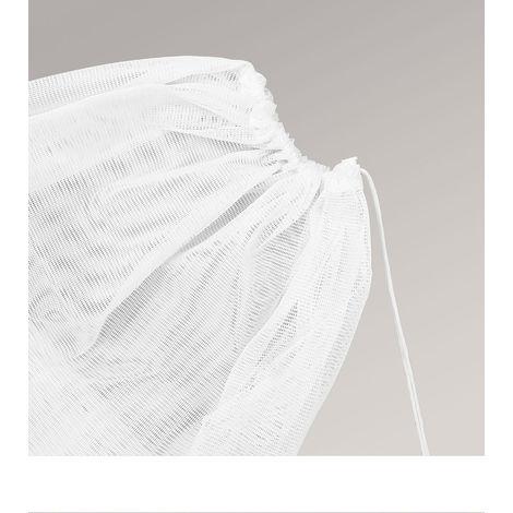 Wäschenetz Breite: 60cm Höhe: 90cm weiß 13155-36189