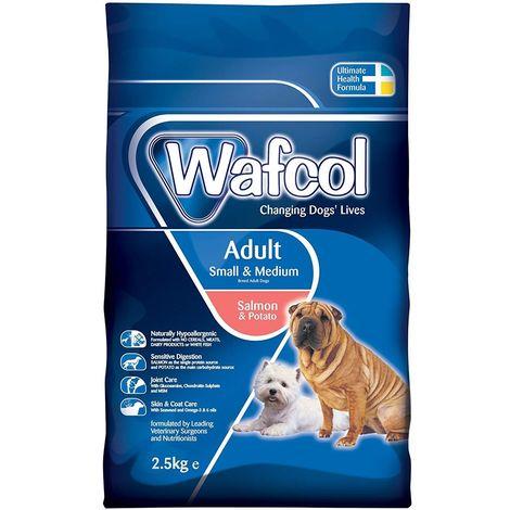 Wafcol Salmon & Potato Adult Small And Medium Breed Dog Food (2.5kg) (May Vary)