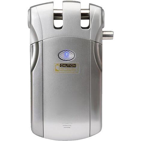Wafu, Wi-Fi inteligente Cerradura electronica, Tuya Smartlife Bloquear /, con 4 controladores remotos