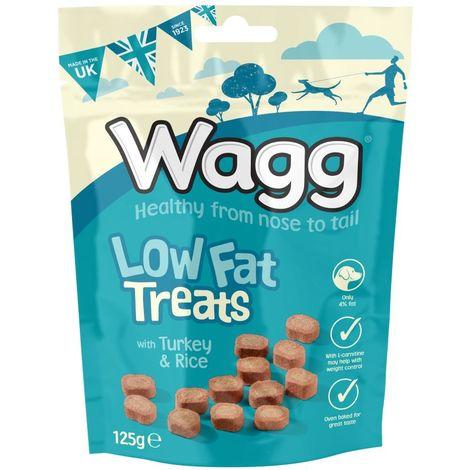 Wagg Low Fat Dog Treats (7 x 125g)
