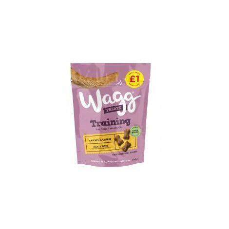 Wagg Training Treat Chicken & Cheese £1 - 100g - 389344