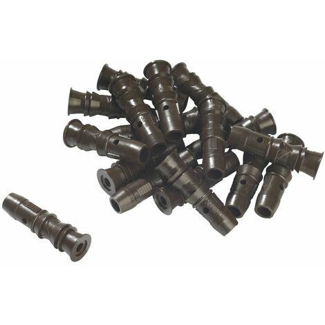 Wagner - 100 chevilles femelles plastiques - 2324776 - TNT