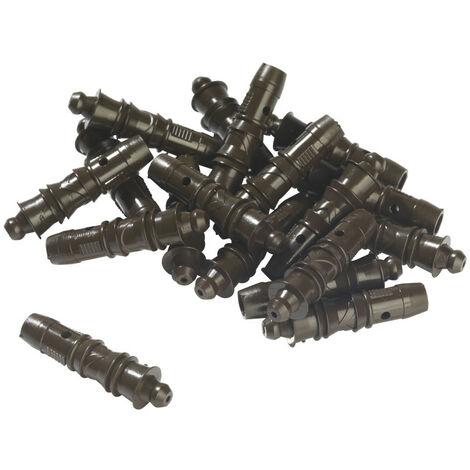 Wagner - 100 chevilles mâles plastiques - 2324775 - TNT