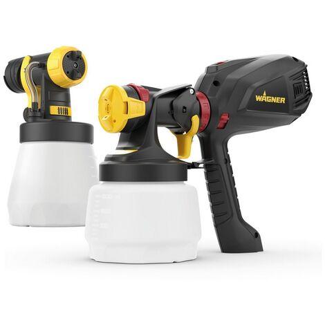 Wagner - Kit de 2 pistolas de pintura a baja presión HVLP 1300 / 800 ml para proyectos pequeños y medianos - Pulverizador Universal W 575 FLEXiO