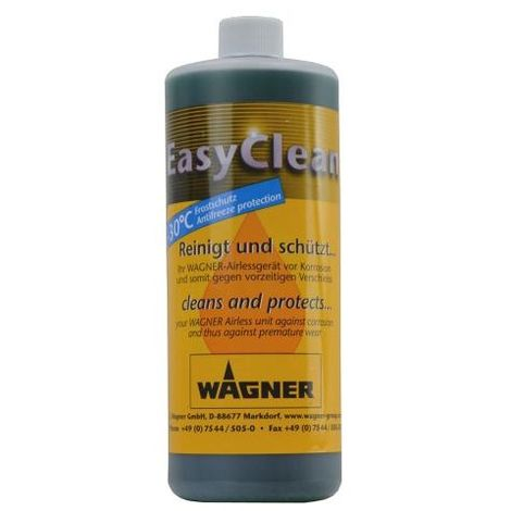 Wagner - Liquide de nettoyage et stockage 1L - Easyclean