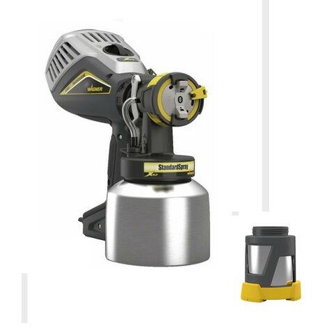 Wagner - Pistolet à peinture FinishControl XVLP FC3500 700W avec Adaptateur de pot