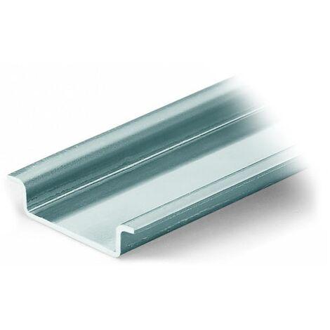 Wago 210-113 Rail DIN acier 35x7.5x1mm - longueur 2 m - non perforé