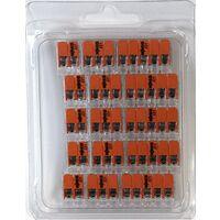 Wago 221 Klemmen SET 5x 221-412, 221-413, 221-415   Kabel Verbinder in der wiederverschließbaren Box - Original WAGO