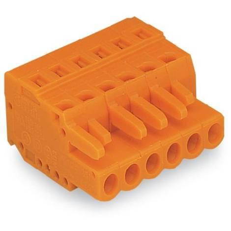 Wago 231-309/026-000 Connecteur femelle pour 1 conducteur; 2,5 mm² - Pas 5,08 mm - 9 pôles