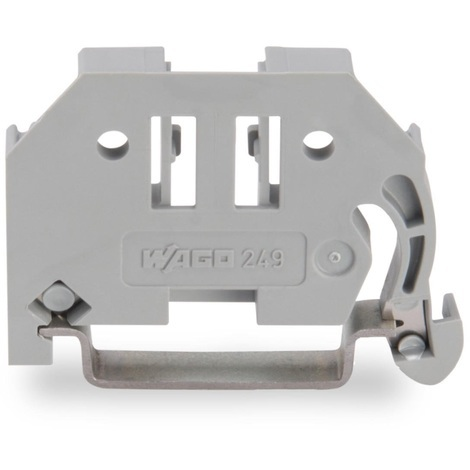Wago 249-116 Butée d'arrêt sans vis - Largeur 6 mm