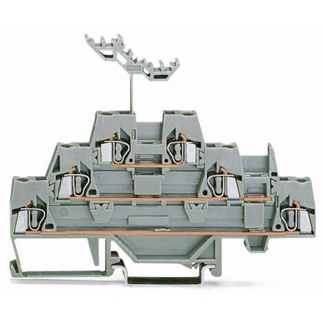 Wago 280-549 Borne ressort traction tripleport 5mm 2,5mm² 20A
