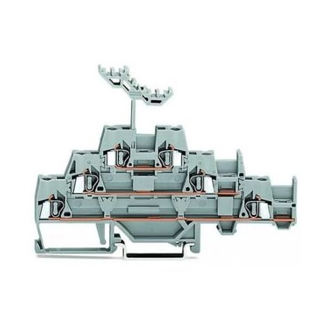 Wago 280-550 Borne à trois étages 2,5mm² AWG 28-14 20A