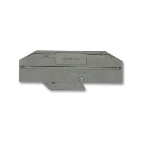 Wago 282-334 Plaque d'extrémité - épaisseur 2 mm
