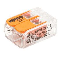 Wago - Bornes de connexion automatique S221 2 entrées par 100