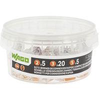 WAGO - Pot de 30 bornes de connexion automatique S273 2, 3 et 5 entrées