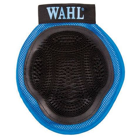 Wahl Pet Grooming Glove (One Size) (Blue/Black)