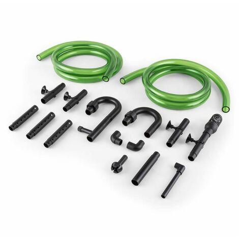 Waldbeck Clearflow 18UV Aquarium Outdoor Filter 18W 3-stage filter 1000 l/h 9W-UVC
