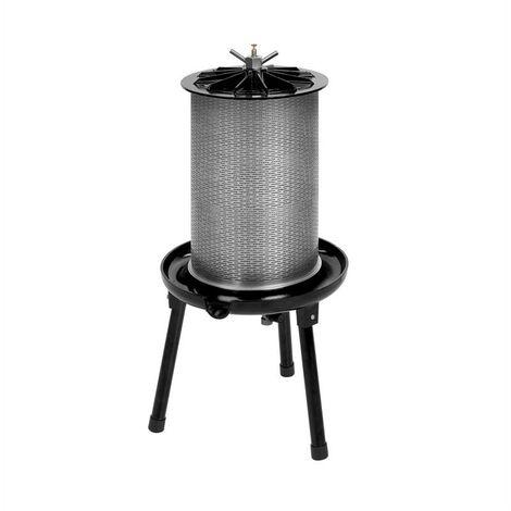 Waldbeck Fruit Punch 20 Presse jus hydraulique 20L 3 bars filtre textile acier
