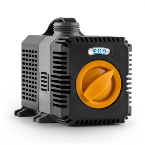 Waldbeck Lagoon 3000 Bomba para estanques Bomba de acuario Bomba sumergible 3000 l/h 10W Juego de adaptadores