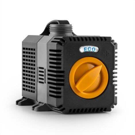 Waldbeck Lagoon 5200 Pond Pump 5,200 l / h EcoSave: 40 Watts 4.8 m Delivery Pressure