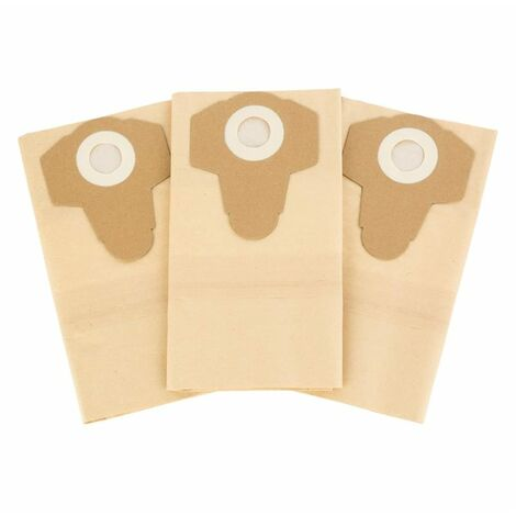 Waldbeck Lakeside Power Set de 3 sacs filtres HEPA 30L pour aspirateur de bassin