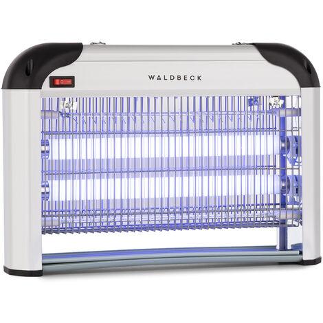 Waldbeck Mosquito Ex 4000 Insecticida, 30 W, luz UV, eficacia en 100 m²
