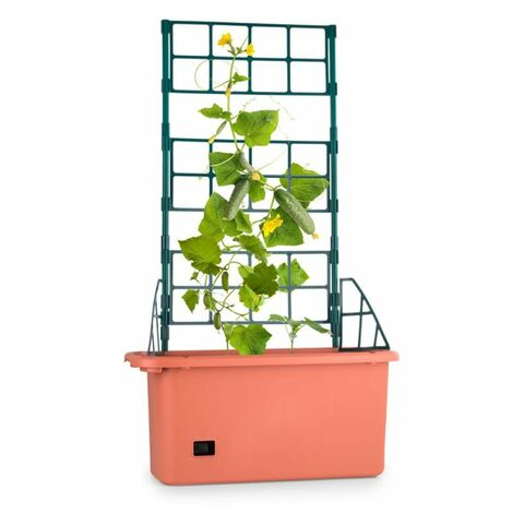 Waldbeck Power Planter Maceta 75x130x35cm Tutor de 3 niveles PP móvil